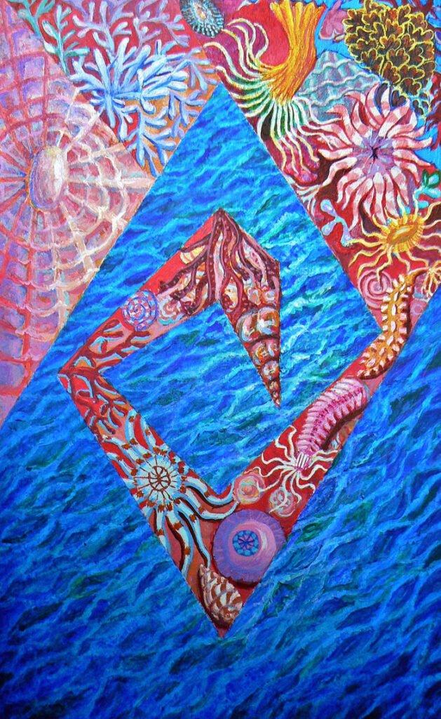 Full Fathom Five - Hybrid Paintings