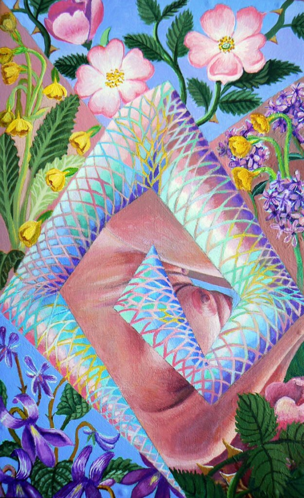 Oberon's speech - Hybrid Paintings