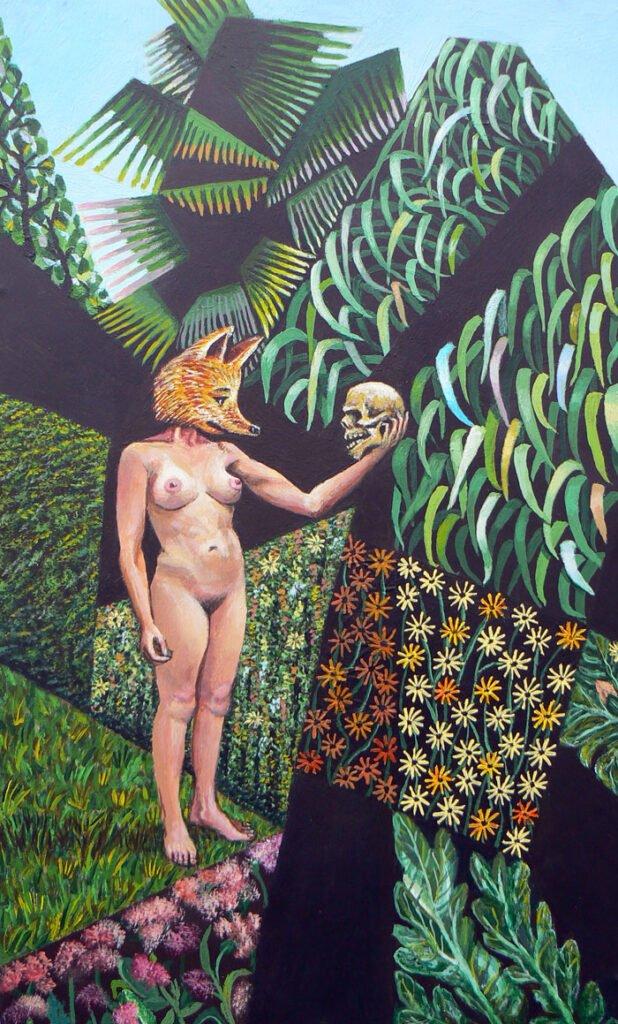 Foxy Lady contemplating mortality - Landscape Hybrids