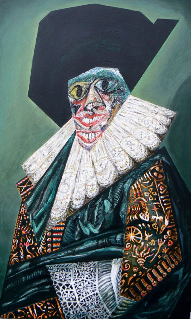 The Laughing Cavalier - Hybrid Paintings