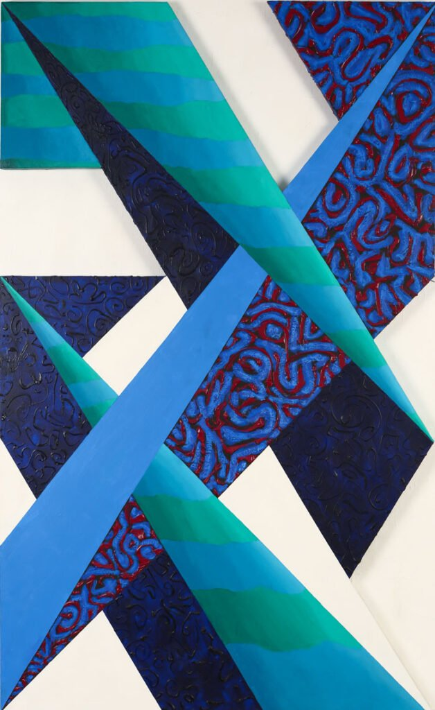 Spatial ambiguity 3 - Shaped Paintings