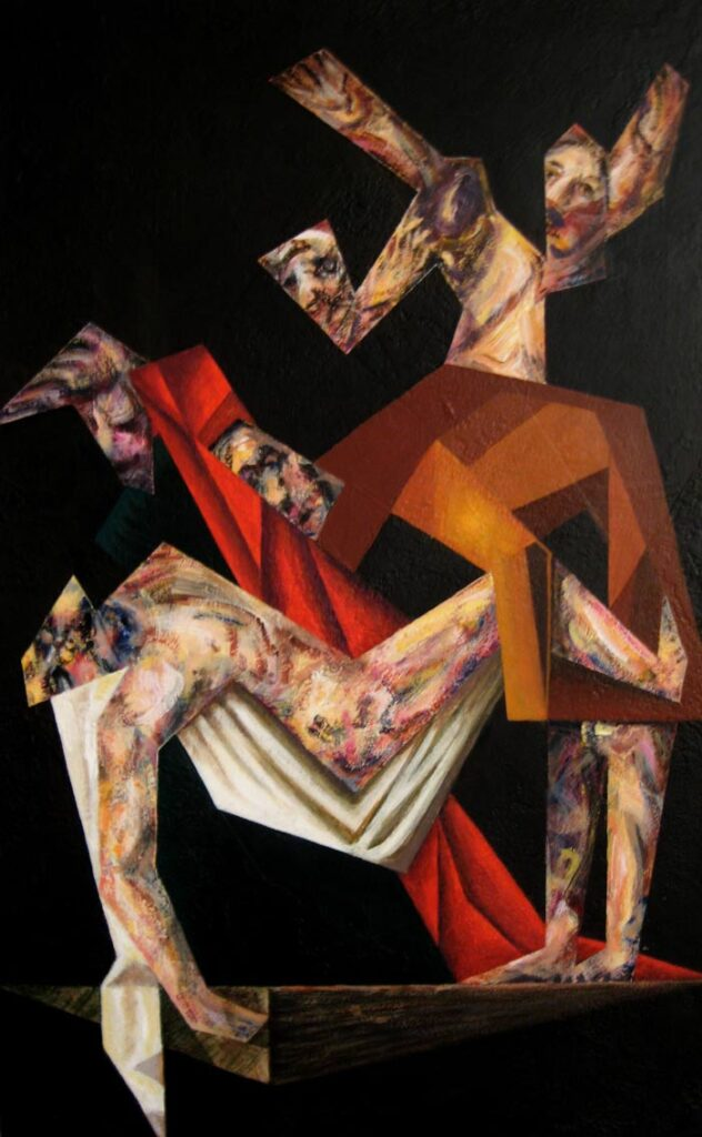 The Deposition 1 - Hybrid Paintings