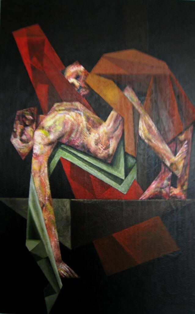 The Deposition 2 - Hybrid Paintings