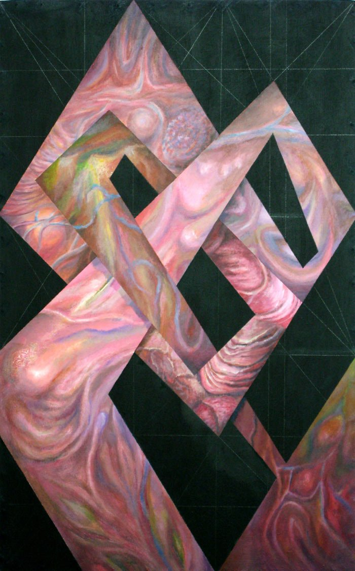 Flesh Gordian Knot - The Golden Section Series
