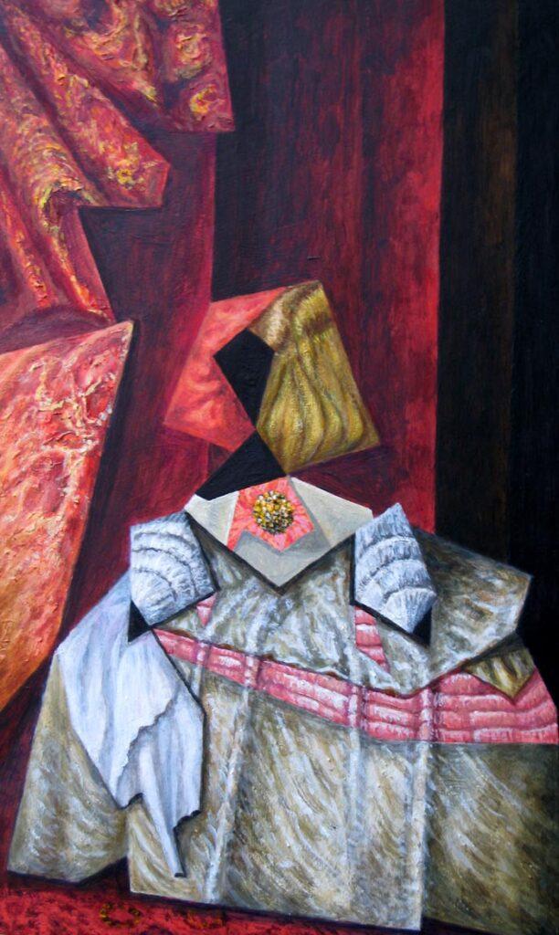 The Infanta - Hybrid Paintings