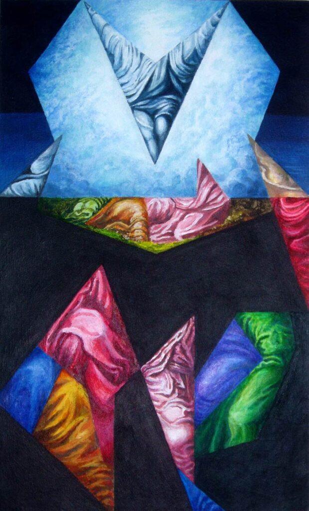 The Transfiguration - Hybrid Paintings