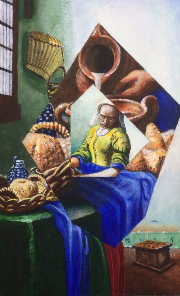 HYBRID: Altered Focus (after Vermeer) 2018